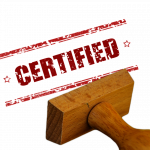 stamp, certificate, certified
