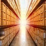 warehouse, logistics, isle